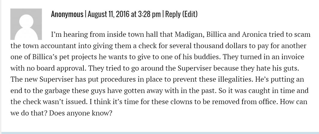 Anonymous Comment Aug 11